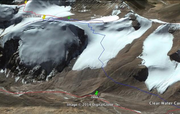 Un dernier sommet et le début de l'itinéraire pour sortir du massif.