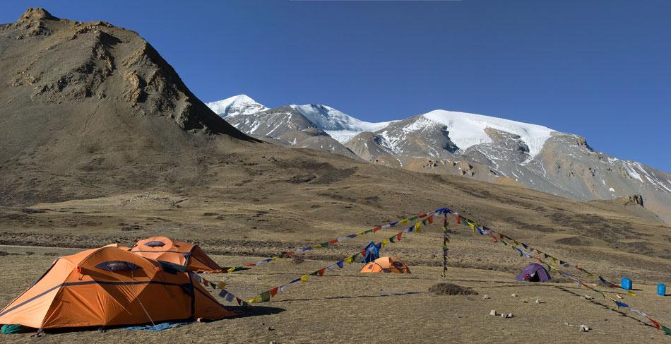 French Camp, un beau terrain de camping juste avant les lacs sacrés du Damodar.
