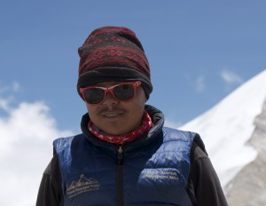 Dorje Bothe, qui reviens d'une expié à l'Everest et presque en vacance...