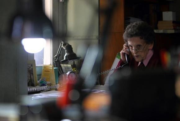 Une photo très intimiste de l'article de Reuter.