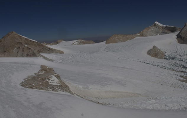 Tibet side, pour d'autres sommets à partir du camp d'altitude du Mansail.