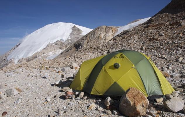 Depuis Clear Water Camp, le sommet du Jangbu Himal et la suite de notre traversée.