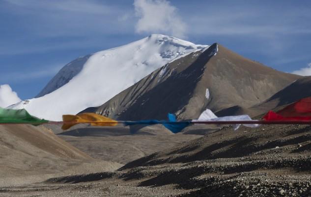 Le Gyao Kang, un beau sommet du massif des Lapche Kang.