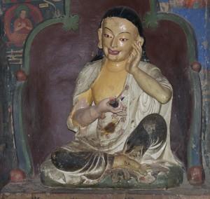 Milarepa au Kumbun de Sigatse..