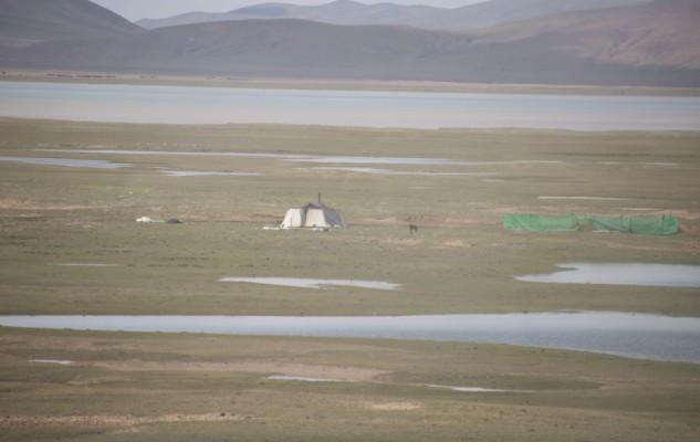 des tentes, aussi...