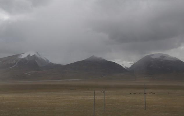 les couleurs changent au gré de la météo. Les distances sont tellement gigantesques.