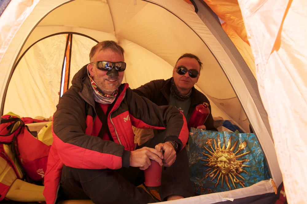 Hugues et Didier.