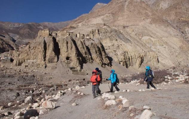 En décembre 2013, avec le projet Sherpa Women. Pas vraiment la même réalité !