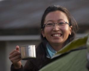 Palee Sherpani, de la vallée de la Rolwaling et d'une grande famille de montagnard. j'espère qu'elle pourra nous  rejoindre l'année prochaine.