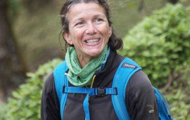 Sonia, entre La Grave et l'Himalaya et qui vient juste de réussir son 1er 7000. Une place importante dans l'expé même si elle refuse toujours de s'occuper de la compta de Sherpa Women !