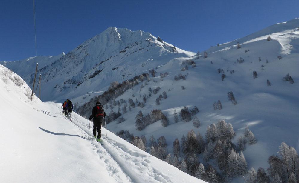 initiation au ski de randonnée à La Grave