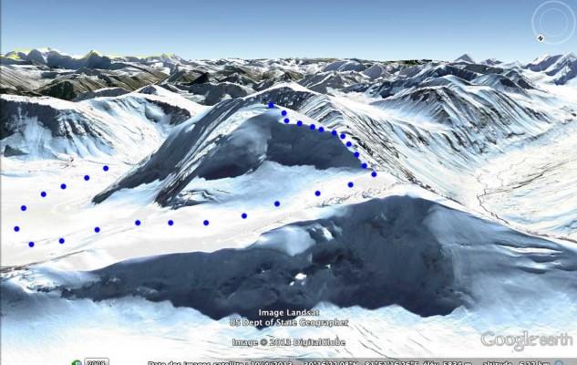 Et un autre point de vue de notre sommet. Rien de vraiment difficile, mais encore faut-il arriver au sommet...