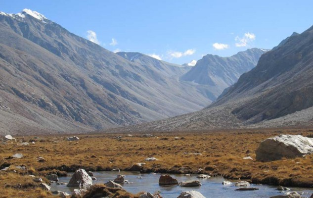La vallée de la Nyin Khola.