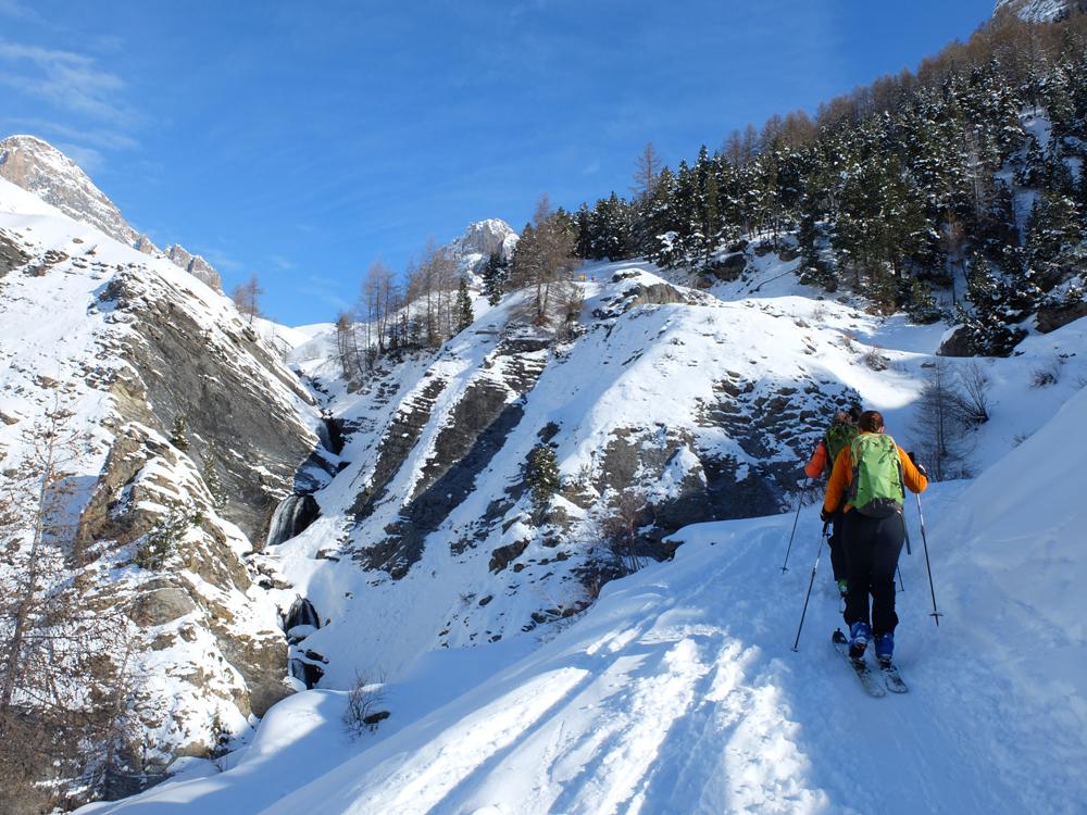 Au départ du Pont de l'Alpe.