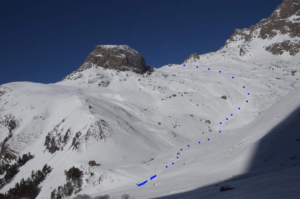 La Petite Bosse à Robert, une très belle balade, idéale pour découvrir le ski de randonnée.