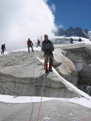 Un peu de glacier pour apprivoiser l'alpinisme...