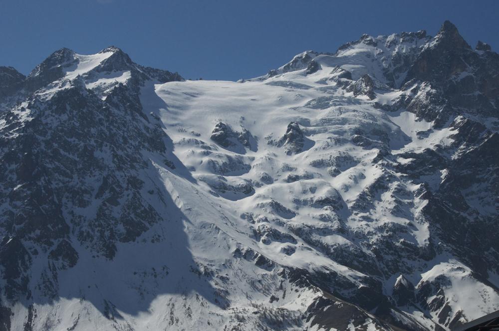 La meije et le glacier du Tabuchet