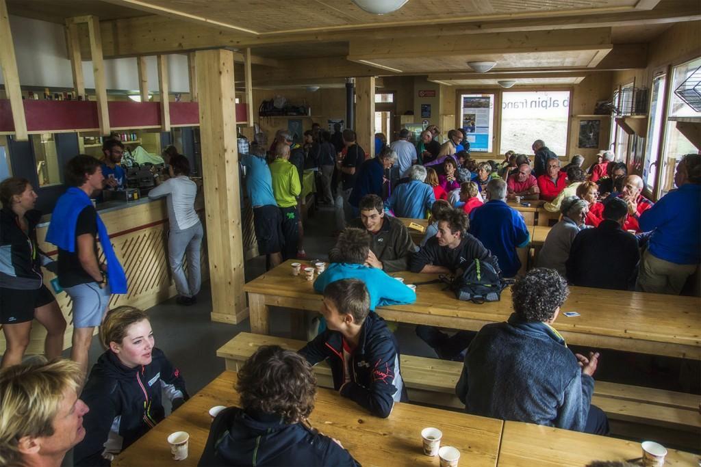 Au refuge CAF du Col de la Vanoise !