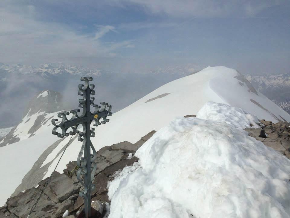 Au sommet du Wildhorn...
