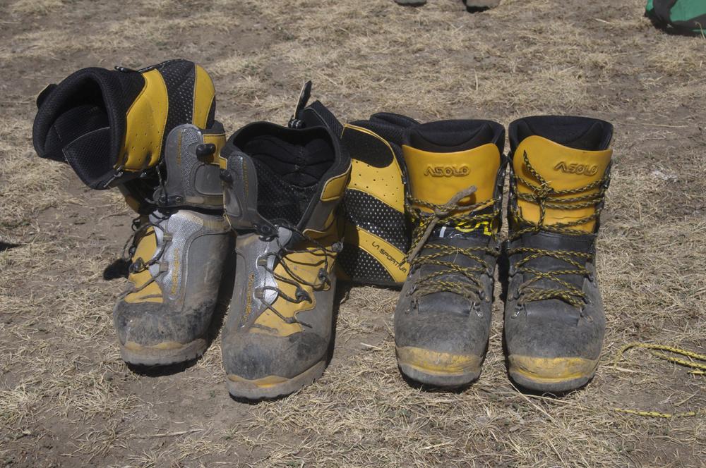 La catégorie des chaussures avec chausson intérieur.