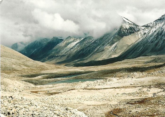 Une image rare, prise par temba et jilke dans la vallée de Ghami.