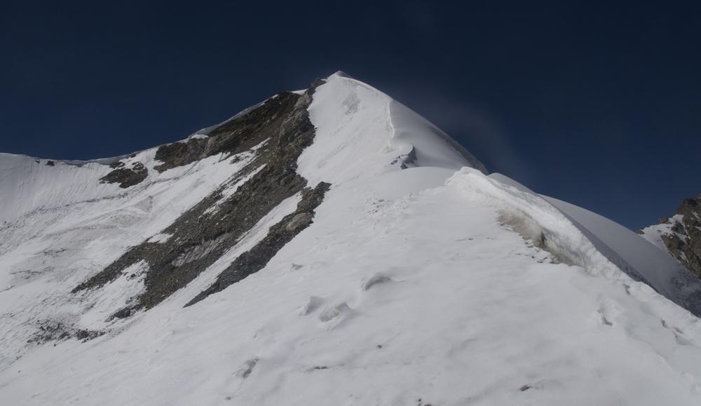 L'arête Nord du Kaya Ko Himal.