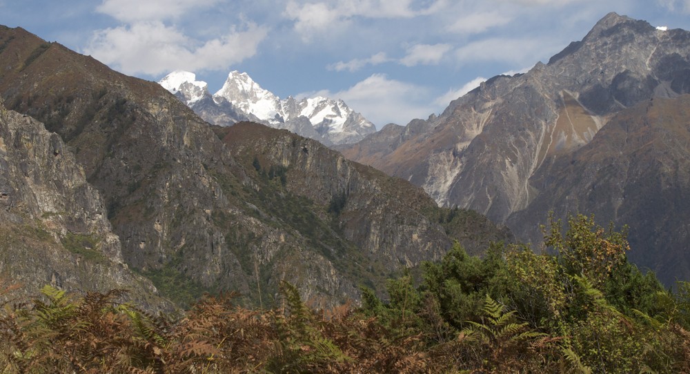 Le sud du massif, depuis Hepka.