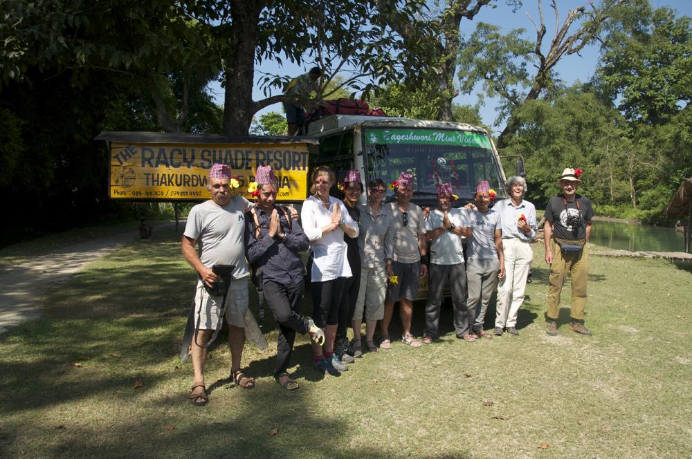 Et le West Nepal ne serait pas le West sans une visite à Bardia National Park et à Racy Sade Lodge. Merci encore à toute l'équipe...