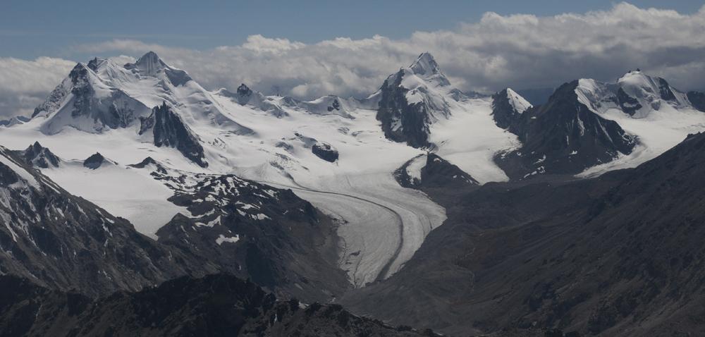 Limi Glacier...