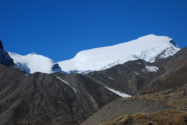 Une montagne pas très impressionnante. C'est bon signe !