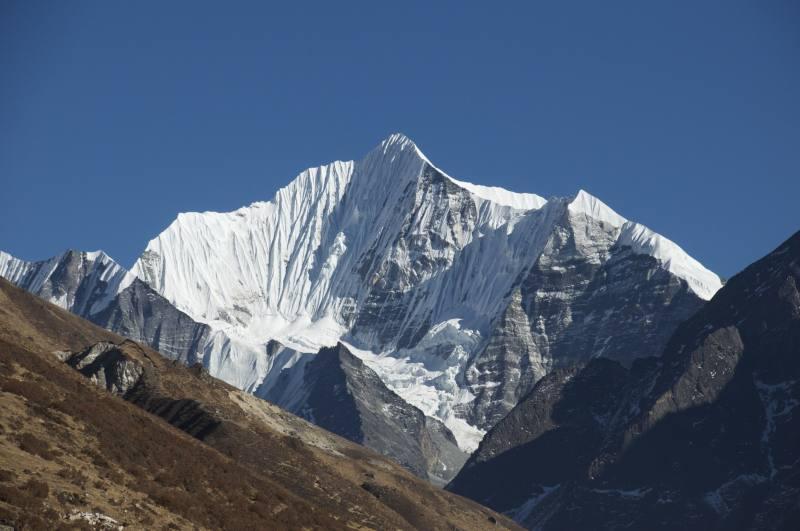 Le Ganchempo, le plus beau sommet du Langtang