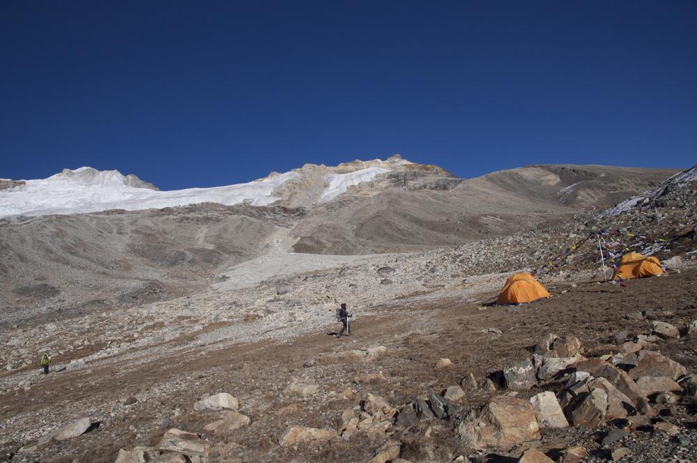 Les sommets des Yala Peak . Un lieu idéal pour découvrir l'alpinisme en Himalaya et au Langtang.