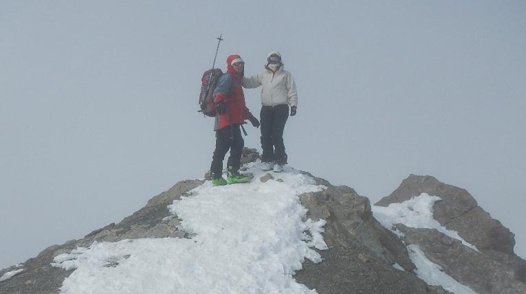 Au sommet du Mont Thabor.