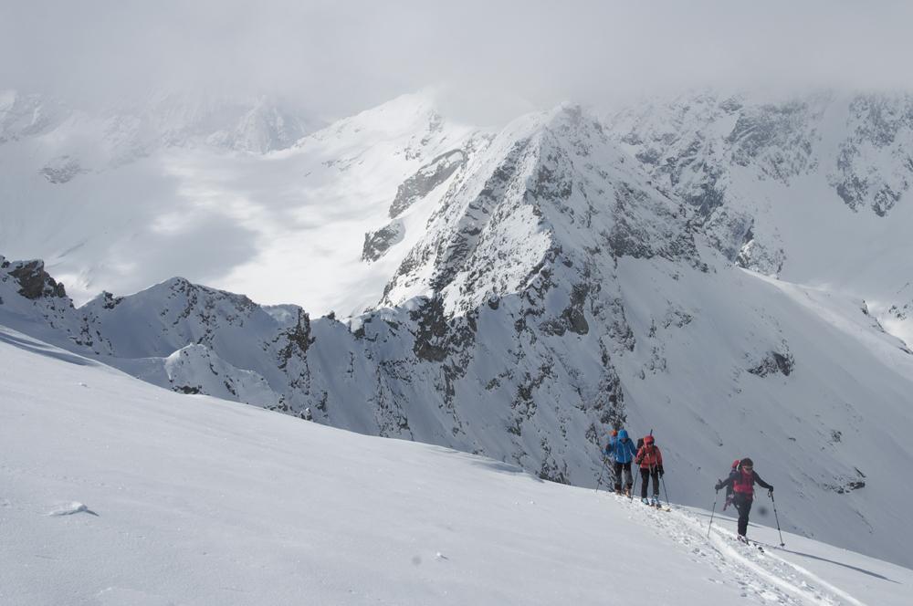 Une ambiance de haute montagne.