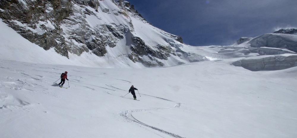Pas de doute, c'est bien de savoir skier !