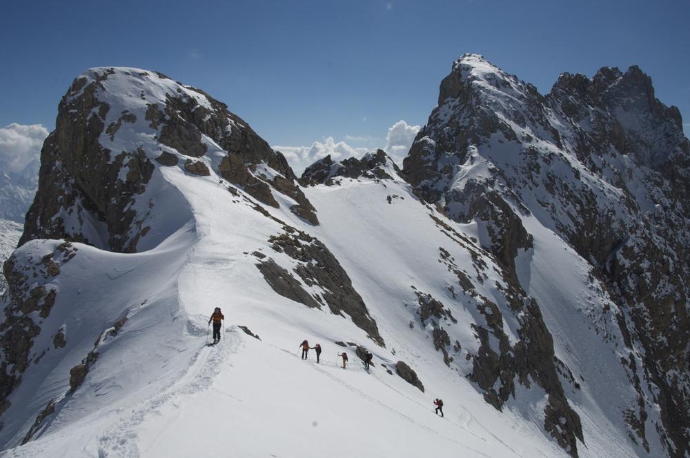 ski de randonnée dans les Cerces
