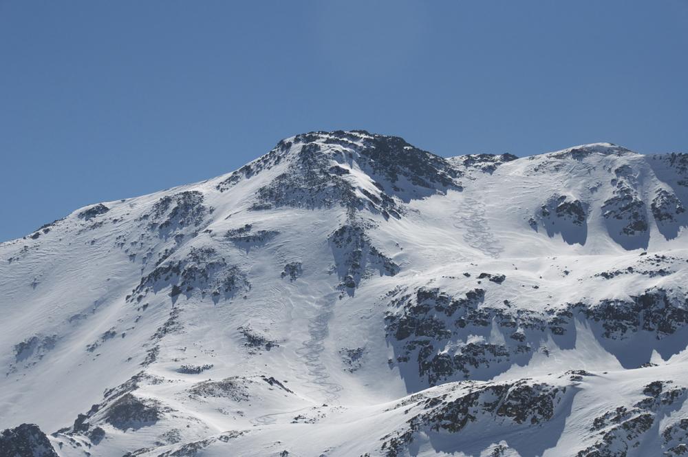 Une belle descente d'un sommet sans nom ! Pour rejoindre la Vallée Etroite.