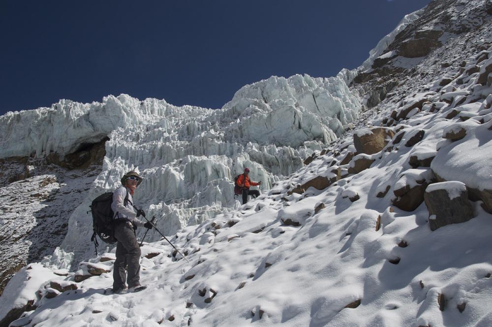Himlung Himal, C1 to C2.