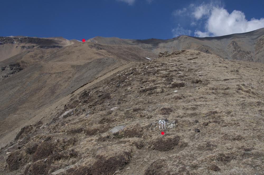 Et nous y voilà. Tripple Gurung y a même peint un balisage !
