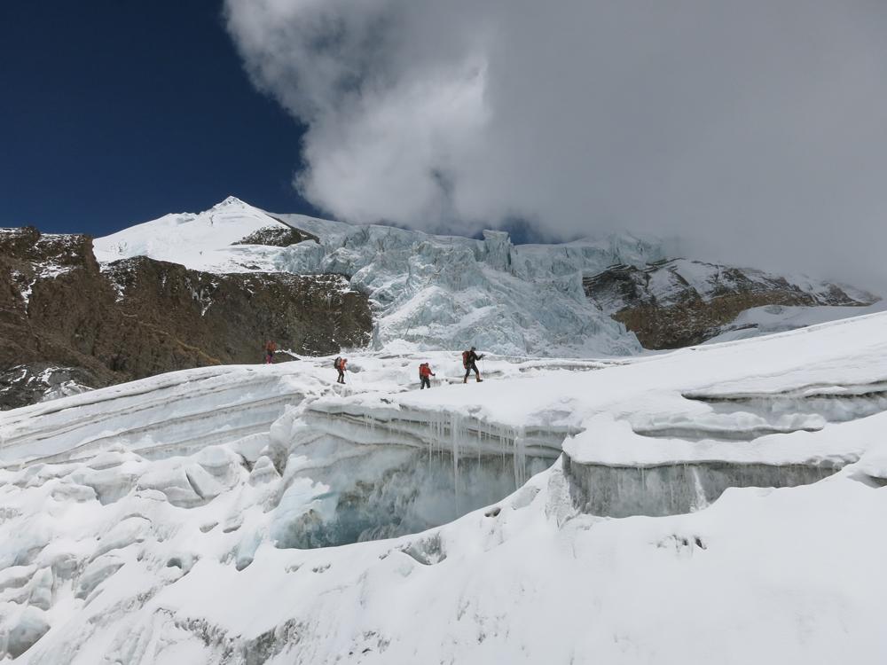 Un glacier pas si compliqué que ça.