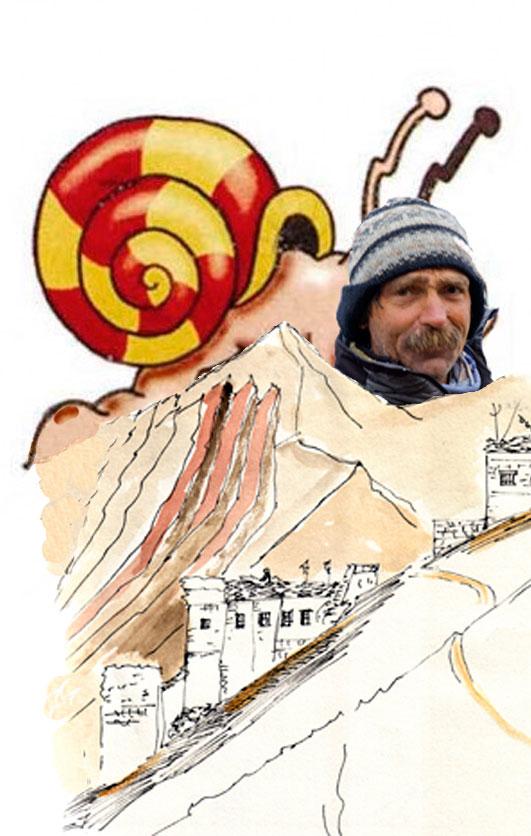 """Paulo Grobel et la stratégie de l'escargot qui s'appelle maintenant """"La progression continue""""."""