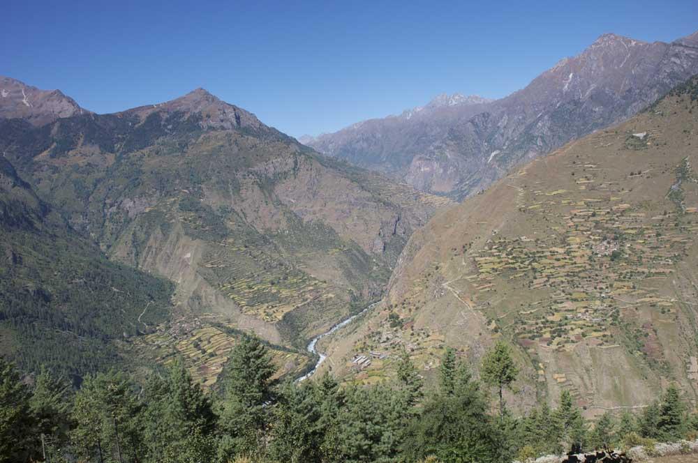 L'Ouest du Népal, un paysage particulier.