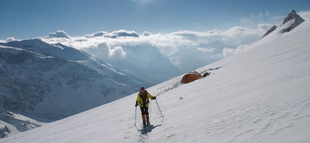 Les tentes et l'altitude, deux composantes majeures de notre voyage.