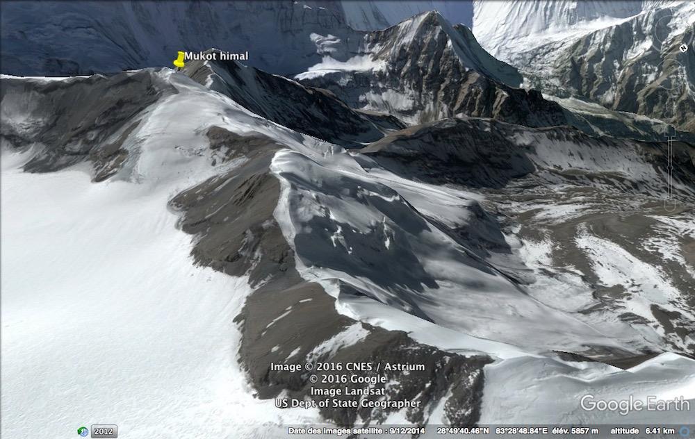 Une belle vue grâce à Google Earth