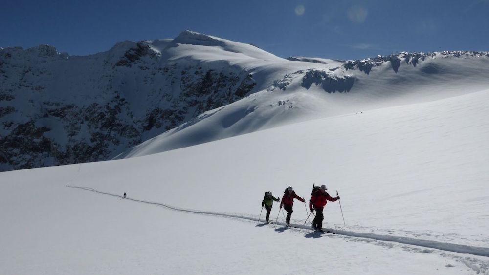 De grands glaciers plutôt confortables. By Olivier Dufour_guide