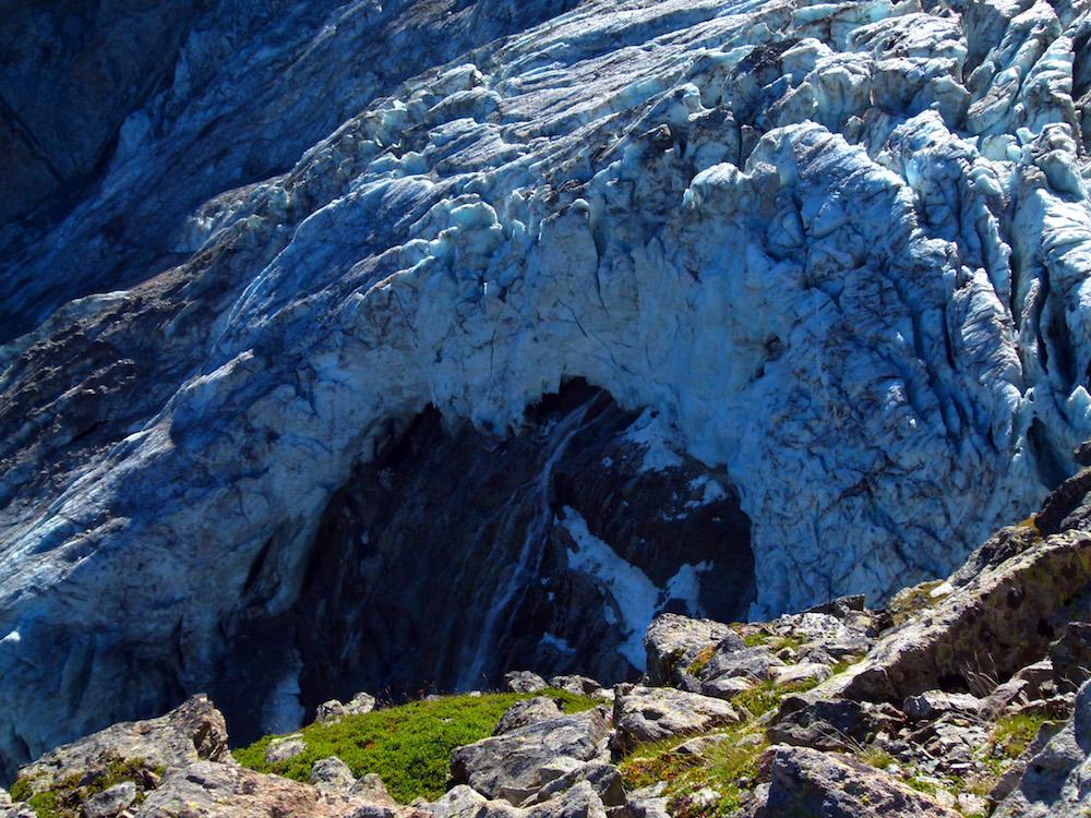 L'oeil du glacier.