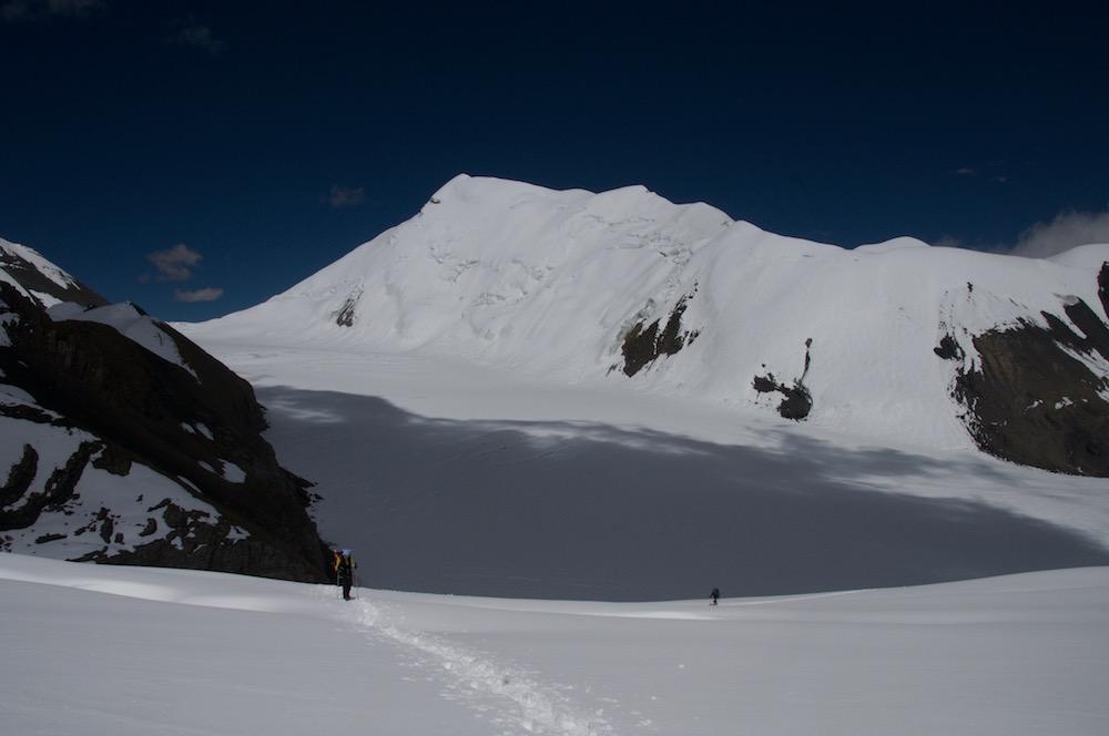 Vers le Mukot Pass entre Dhaulagiri et Dolpo. pour une expédition en Himalaya très exploratoire.