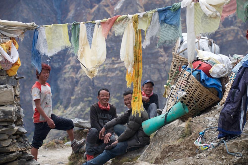 Et un grand merci à toute l'équipe népalaise.