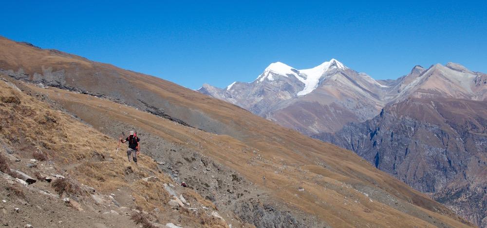 Et toujours les montagnes de Kakkot, avec l'ambiance particulière des alpages de la Putha.