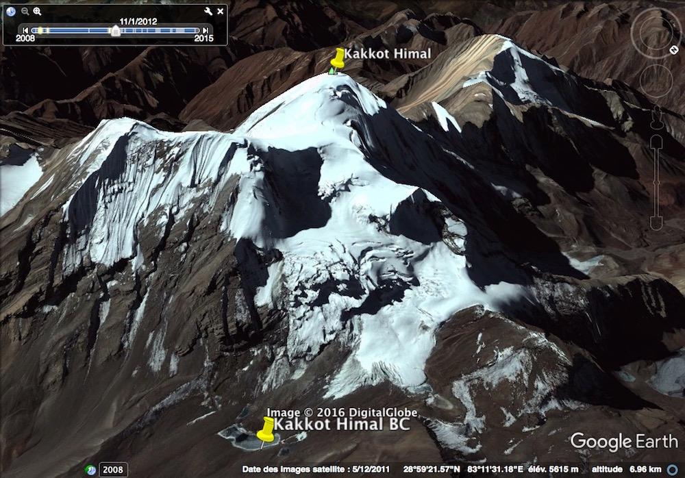 Et le versant Nord, forcément plus glaciaire et avec un bel itinéraire.